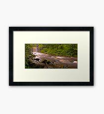 Sgwd yr Eira Downstream Framed Print