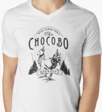 Chocobo Forest - Vintage  Men's V-Neck T-Shirt