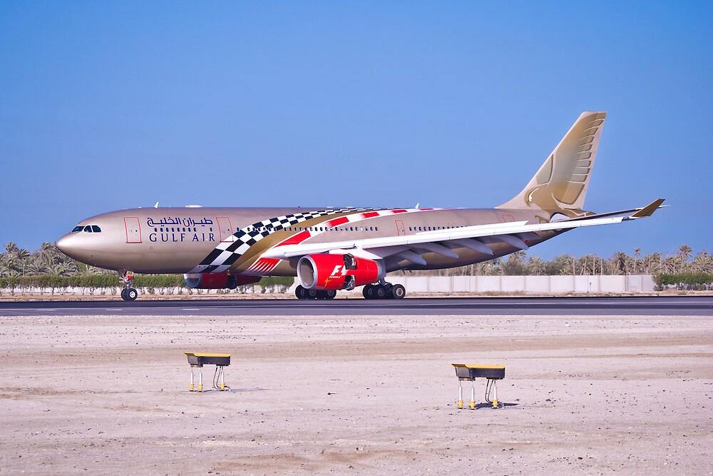 Gulf Air with Spical Paint F1 by Bucheeri