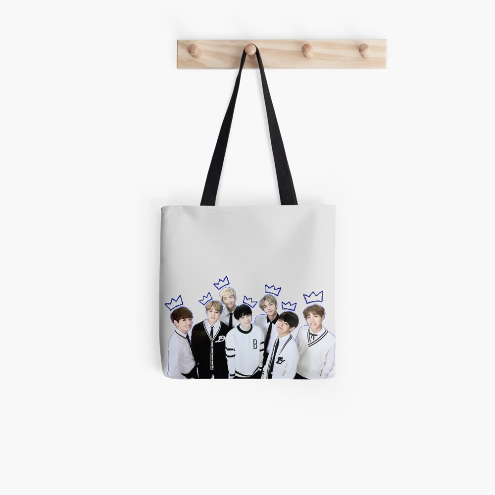 [SIGNATURE] BTS Kings Edit Tote Bag