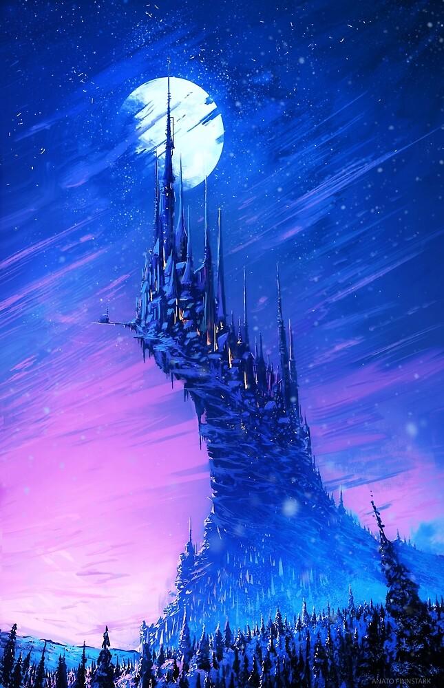 The city of winter by Anatofinnstark