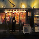 Neo Tokyo - Small Izakaya in the back street of Tokyo by Guillaume Marcotte