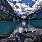 Lake Louise - Alberta Canada by Kathy Weaver