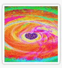 Colourful Heart-Available As Art Prints-Mugs,Cases,Duvets,T Shirts,Stickers,etc Sticker