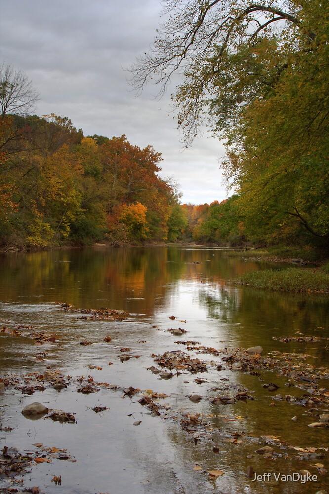 Kickapoo State Park - Vermillion River #1 by Jeff VanDyke