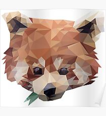 Tshirt RedPanda Tshirt Firefox Poster