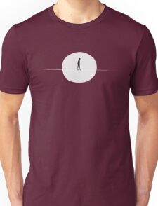 Moonlit tightrope Unisex T-Shirt