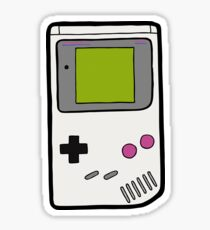 Retro Game Boy Sticker