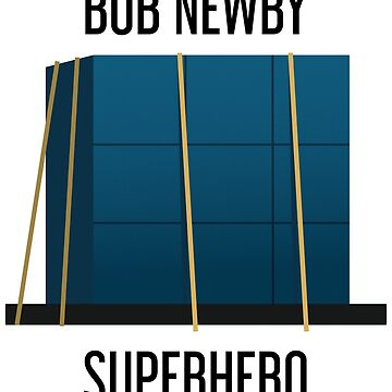 Bob Newby Superhero Stranger Things 2 by bubivisualarts