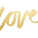 Love Gold White Type by evannave