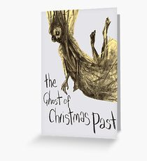 The Ghost Of Christmas Past Greeting Card