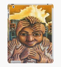 mans man iPad Case/Skin