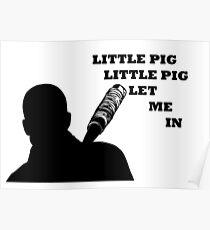 Little pig, little pig, let me in  Poster
