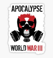 Apocalypse - World War III Sticker