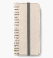 Mr Darcy iPhone Wallet/Case/Skin
