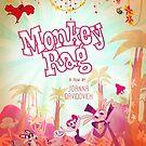 Monkey Rag Poster by Joanna Davidovich