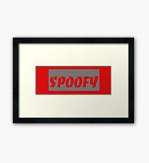 Spoof Culture Framed Print