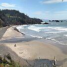 Indian Beach, Cannon Beach Oregon by Mehdals