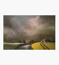 Farm houses Photographic Print