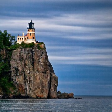 Light on the Cliff - Lake Superior, Wisconsin by kdxweaver