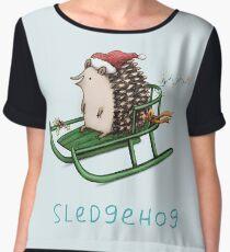 Sledgehog Chiffon Top