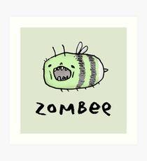 Zombee Art Print
