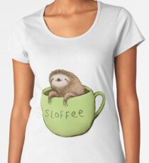 Sloffee Women's Premium T-Shirt