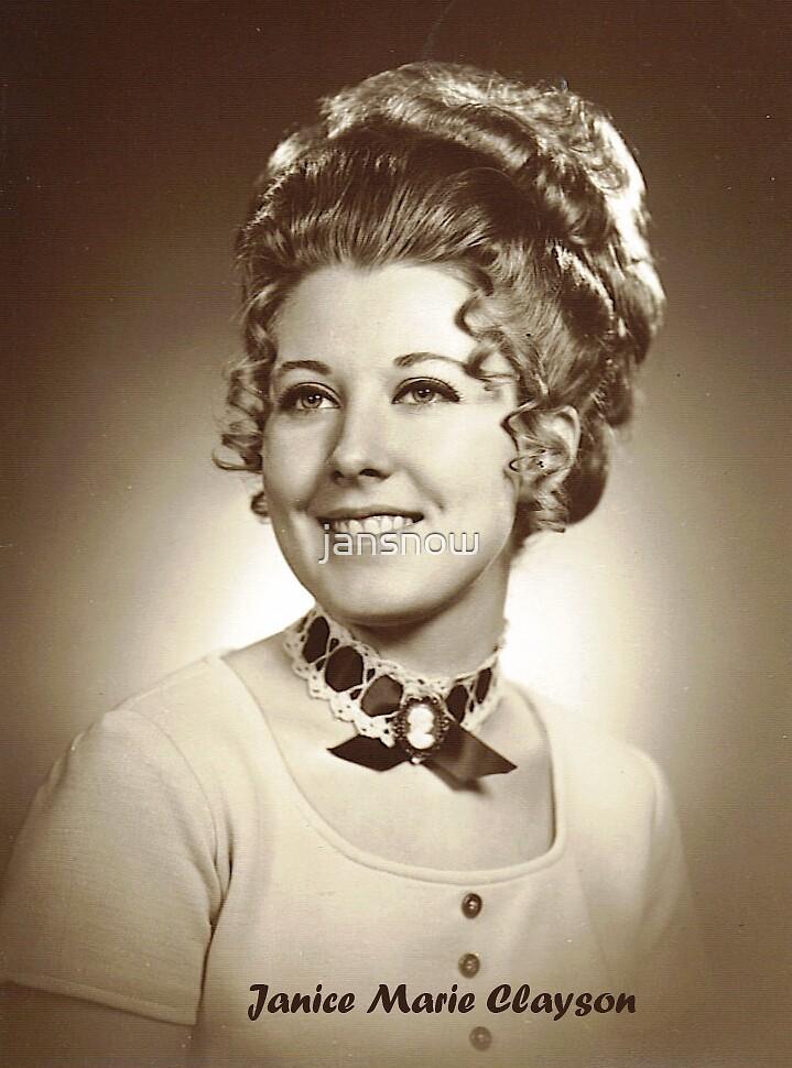 Janice Marie Clayson - 1972 / Niftiest Hairdo by jansnow