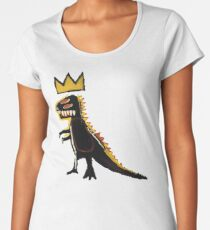 dinosaur - of regret no major tension in their bodies, no tender  Women's Premium T-Shirt