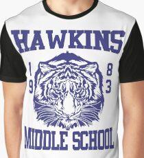 HAWKINGS STRANGER THINGS Graphic T-Shirt