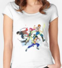 Hakusho_War Women's Fitted Scoop T-Shirt