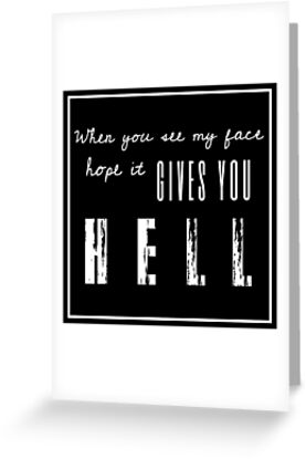 Gives you Hell by alwaysnicole