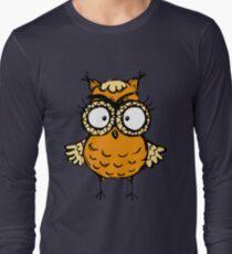 Cute funny hand drawn owl T-Shirt