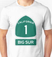 PCH - CA Highway 1 - Big Sur T-Shirt