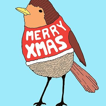 Christmas Robin  by saifchowdhury
