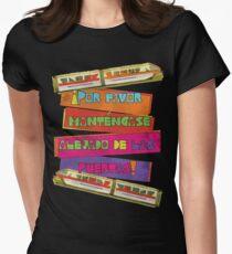 WDW spanische Monorail Tailliertes T-Shirt