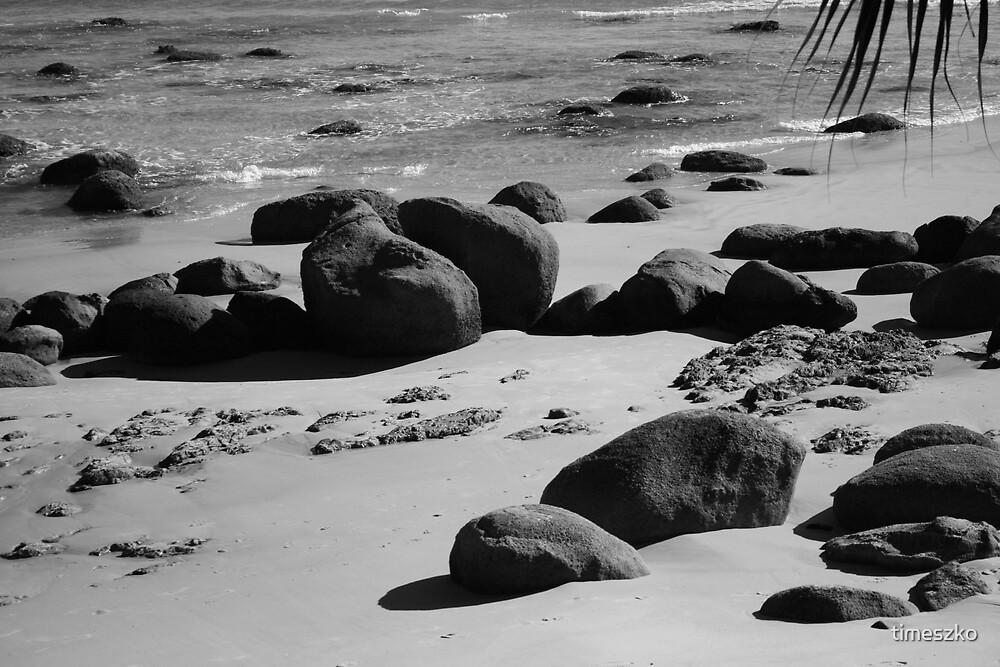 Beach rocks by timeszko