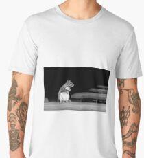 Squirrel Black White  Men's Premium T-Shirt