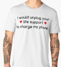 Life Priorities (Red Hearts) Men's Premium T-Shirt