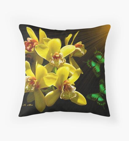 ~ ORCHID JOY ~ Throw Pillow