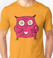 Cute hand drawn owl T-Shirt