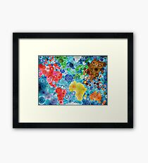 Lighting up the world! Framed Print