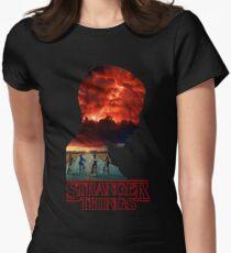 Stranger Things Women's Fitted T-Shirt