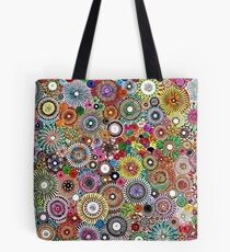 Childhood Dreams - Painted Spirograph Art Tote Bag