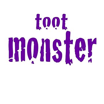 Toot Monster - Purple by CaptureRadiance