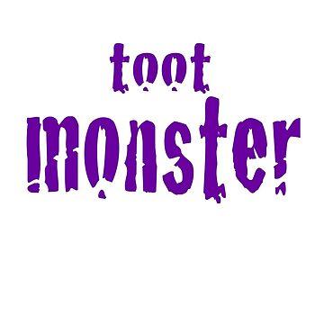 Toot Monster - Purple by CaptureRadiance