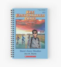 Steve's Scary Situation Spiral Notebook