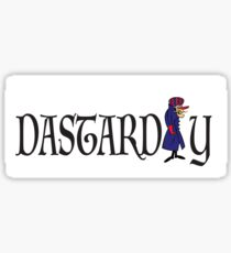 Wacky races Dick Dastardly  Sticker