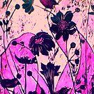 """Woodcut Print 2 by Belinda """"BillyLee"""" NYE (Printmaker)"""