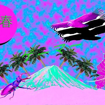 Mount Fuji but aesthetic by Wolfrenz0